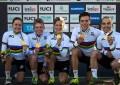 Mundial de MTB: seleção da Suíça fatura Team Relay
