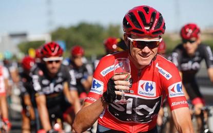 Vuelta: Froome é campeão e Contador tem despedida emocionada