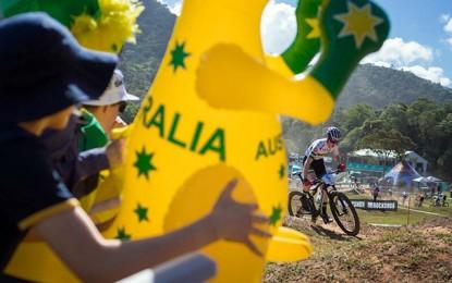 Mundial de MTB: bike-cam no percurso do cross country em Cairns