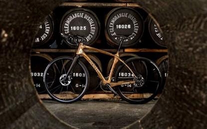 Conheça a primeira bike feita com madeira de barris de carvalho