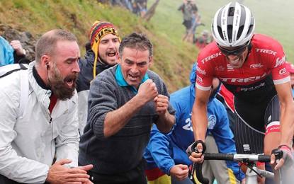 Alberto Contador tão longe e tão perto do pódio da Vuelta