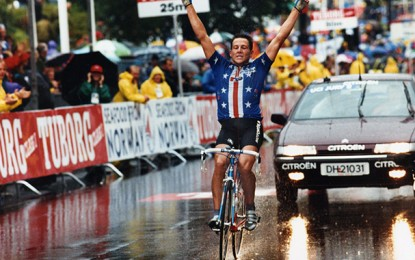 Revival: Lance Armstrong na vitória do Mundial da Noruega em 1993