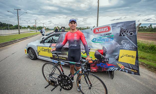 Evandro Portela estabelece recorde de velocidade a 202km/h