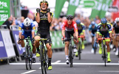 Tour of Britain  Ewan vence etapa final  Alaphilippe é o campeão e3d89f7e79