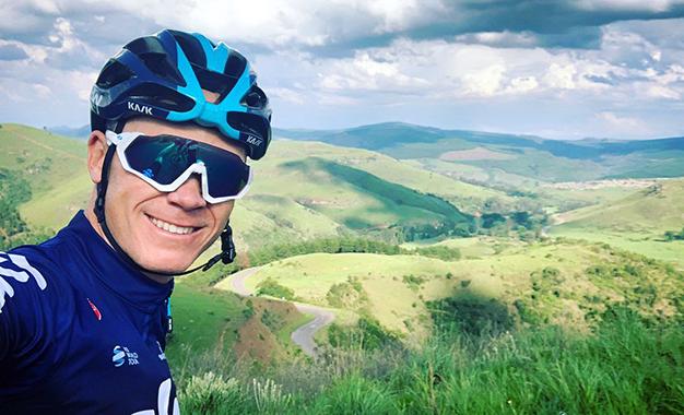 Strava: Froome começa 2019 com pedalada de 225km em 6h30