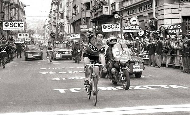 Milão-San Remo: reveja a vitória do recordista Eddy Merckx em 1976