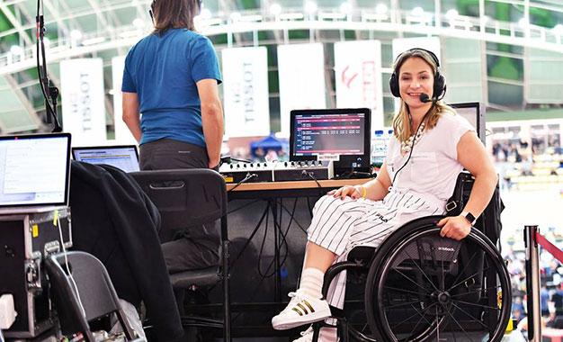 Mundial de Pista: para Kristina Vogel, cadeira de rodas não é o fim