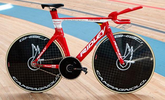 Flying Moustache, a bike de Campenaerts para o recorde da hora