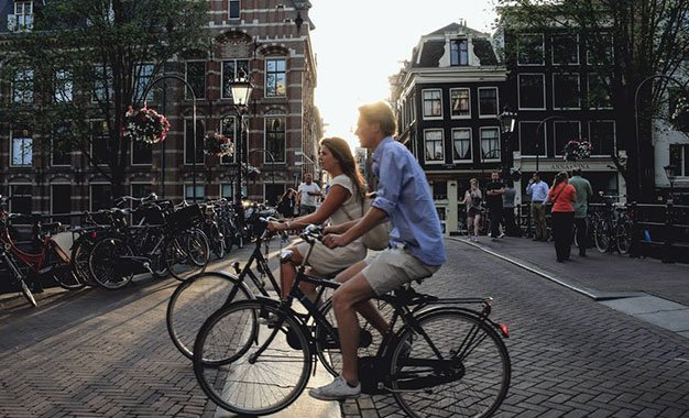 Giraventura: Por que os holandeses não usam capacete?