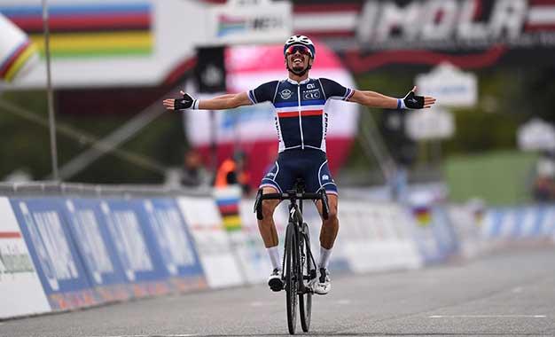 Mundial de Ciclismo: Julian Alaphilippe é o campeão
