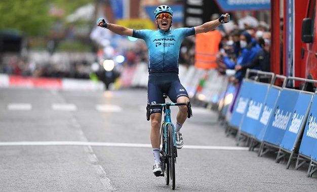 Volta ao País Basco: Aranburu conquista vitória solo na 2ª etapa