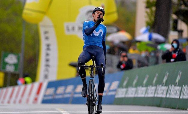 Tour da Romandia: Marc Soler vence 3ª etapa e é o novo líder