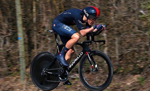 Tour da Romandia: Rohan Dennis vence prólogo; Ineos domina pódio