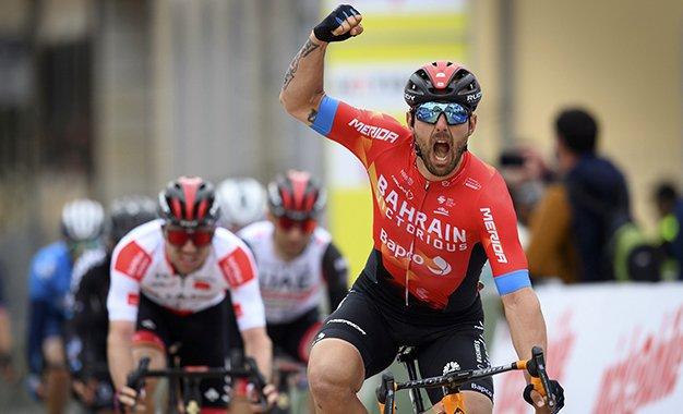 Tour da Romandia: Colbrelli vence 2ª etapa; Rohan Dennis segura liderança