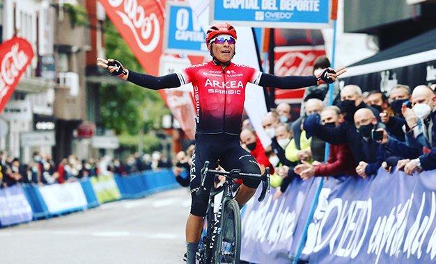 Nairo Quintana vence 1ª etapa da Volta a Astúrias