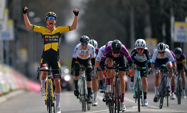 Marianne Vos vence a Amstel Gold Race pela primeira vez