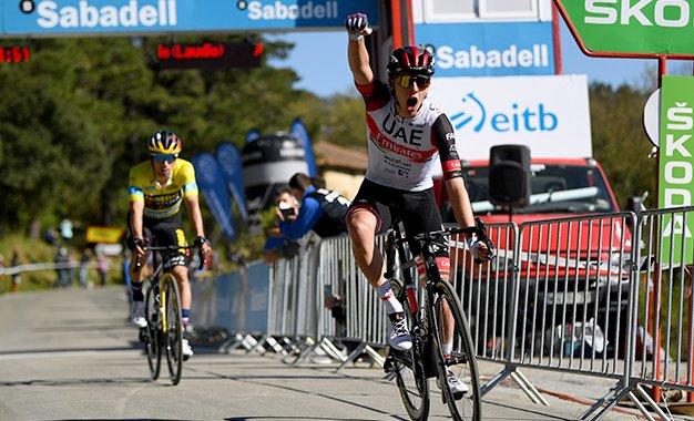 Volta ao País Basco: Pogacar vence Roglic na chegada ao alto da 3ª etapa