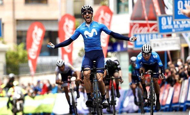 Volta a Astúrias: Carretero vence 2ª etapa; Nairo, em 2º, segura liderança