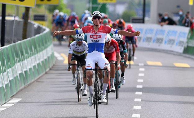 Tour da Suíça: Van der Poel vence 3ª etapa e conquista a liderança