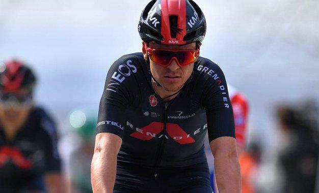 Pidcock cai durante treino, tem fratura e está fora do Tour da Suíça