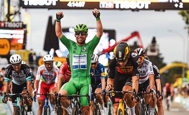 Cavendish vence 10ª etapa, sua 3ª vitória no Tour 2021
