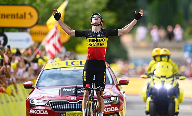 Tour: Van Aert vence 11ª etapa, com escalada dupla ao Ventoux