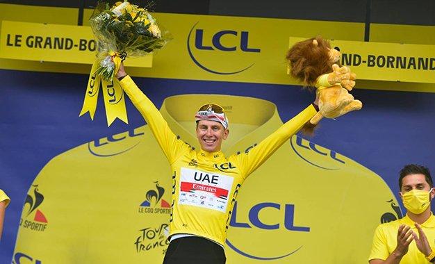 Tour: Pogacar ataca nos Alpes e é o novo líder; Teuns vence 8ª etapa