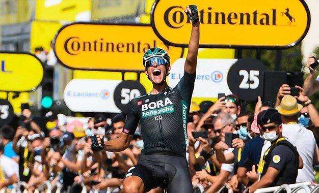 Tour 2021: Nils Politt conquista vitória solo na 12ª etapa