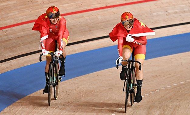 Tóquio 2021: ciclismo de pista começa com ouro para a China