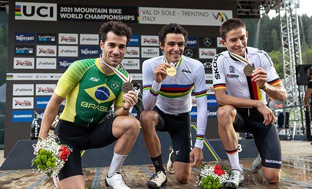 Mundial de MTB: Avancini é prata no short track