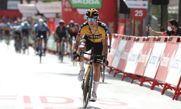 Vuelta 2021: Roglic vence 11ª etapa; Eiking segura liderança
