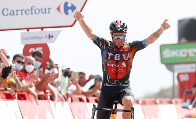 Vuelta 2021: Caruso conquista vitória solo na 9ª etapa