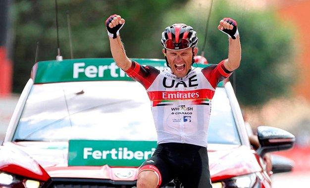 Vuelta: Rafal Majka conquista vitória solo na 15ª etapa