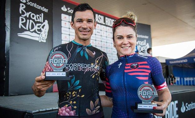 Jailson Diniz e Lais Saes são os campeões da 8ª Road Brasil Ride