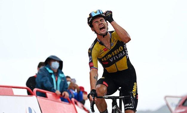 Vuelta 2021: Roglic vence 17ª etapa e retoma a liderança geral