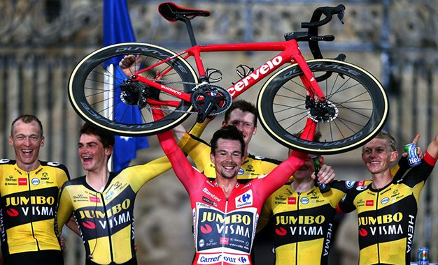 Vuelta 2021: Primoz Roglic vence crono final e é tricampeão